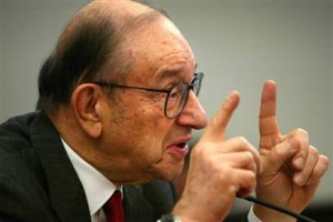 Greenspan - Now one plus one...