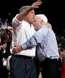 Bush & McCain