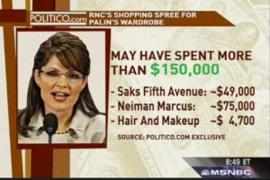 Palin's wild expense account - on us!