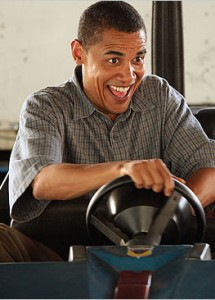 Obama's ride to nowhere
