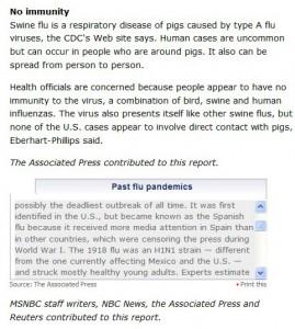 Associated press lie