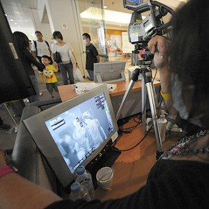 Scanning for H1N2 virus in Singapore