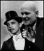 Charlie (the puppet) Obama and Joe the Plumber