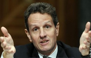 Goldman's man Timothy Geithner