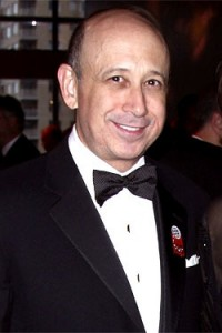 Lloyd Blankfein, Goldman CEO