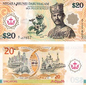 Brunei/Singapore Currency