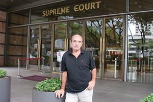 Alan Shadrake, arrested author