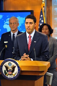 Rajiv Shah - U.S. Dept. of State photo