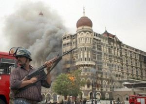 Lashkar-e-Taiba attack on Mumbai, in 2008