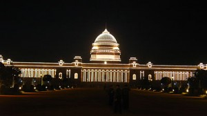 India's White House, the Rashtrapati Bhavan