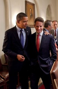 Obama & Geithner, pals off to India