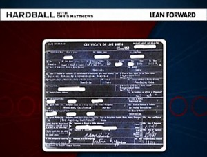 "Obama's ""Original"" Birth Certificate"