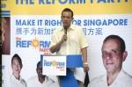 Political hack Kenneth Jeyaretnam bores the crowd