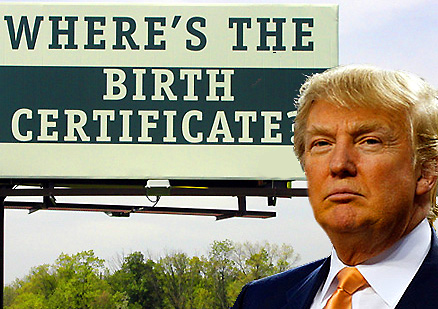 Donald Trump has doubts about Obama\'s place of birth « Getting at ...