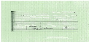 The first extracted layer from Obama's long-form birth certificate