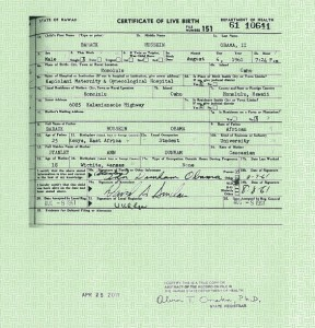 Obama's forged long-form birth certificate