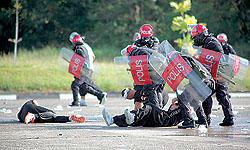 Brunei riot police
