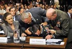 Gen. Petraeus faints at Senate Hearing