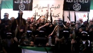 Al Qaeda banners fly in Syria