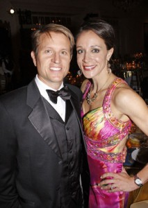 Paula Broadwell with husband Scott