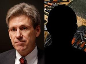 Ambassador Stevens & arms dealer Marc Turi