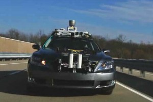 Toyota's driverless Lexus LS