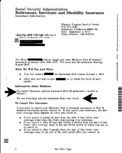 Social Security Letter