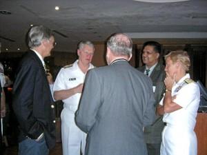 Naval Meeting with Leonard Francis