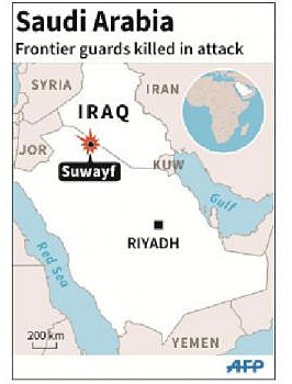 Point of ISIS attack on vast Saudi/Iraq border