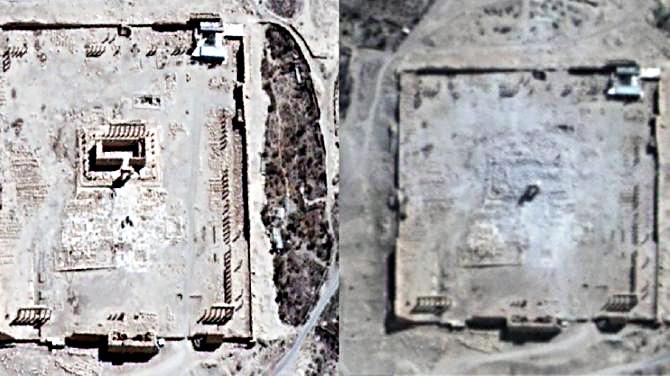 Palmyra Destroyed