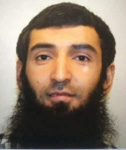 Sayfullo Saipov who killed in New York City on Oct. 31, 2017
