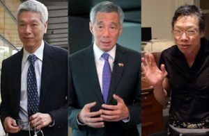 Lee Hsien Yang, Lee Hsien Loong, Lee Wei Ling